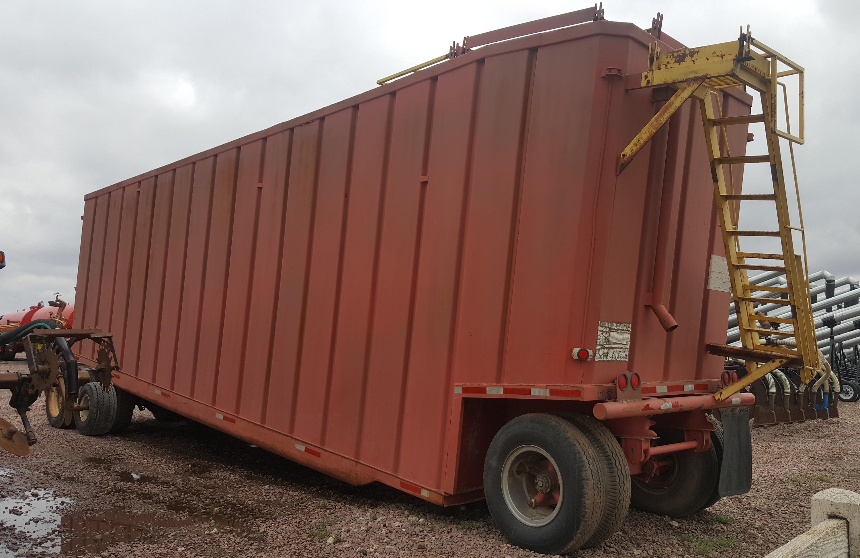 20,000 Gallon Frac Tank with Tandem Dolly